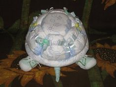 Learn how to make Scooter the Diaper Turtle. by DiaperZooDesigns