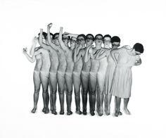 Cindy Sherman, Untitled, 1975, serie di 25 fotografie in bianco e nero, colorate a mano, Courtesy: Collezione Verbund Vienna . libreriamo.it