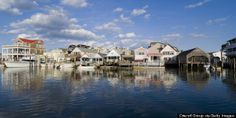 Cape May New Jersey - the oldest seaside resort town in the country.