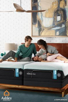 It's no secret that better sleep leads to better health. Every Tempur-Pedic® mattress comes with cutting-edge technology to help you get to sleep faster, longer, cooler, and deeper each and every night.