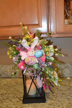 Easter Swag Easter Lantern Swag Lantern swag  by TheBloomingWreath