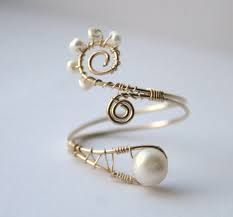 Image result for wire wrapped rings