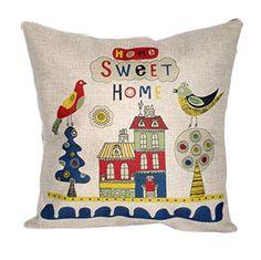 "Lakiss Custom Cotton Linen Square Decorative Throw Pillow Case Sofa Cushion Cover 18""X18"" Lakiss http://www.amazon.com/dp/B00RYOTMVI/ref=cm_sw_r_pi_dp_eghEvb1MV956G"