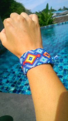 Check out this item in my Etsy shop https://www.etsy.com/uk/listing/268335117/rory-woven-friendship-bracelet-thread