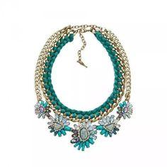 Rare Chloe + Isabel Bora Bora Statement Necklace