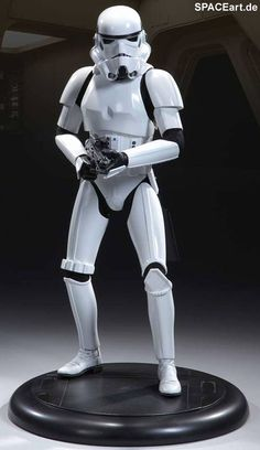 Star Wars: Stormtrooper, Statue / Premium Format Figur ... http://spaceart.de/produkte/sw050.php
