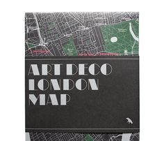 Art Deco London Map, the second in our series of London architecture guides is now...