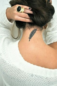 feather tattoo, want one <3