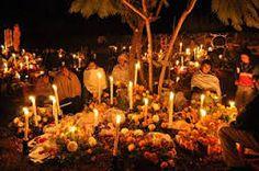 Dia de muertos en Patzcuaro, Michoacan, Mexico.