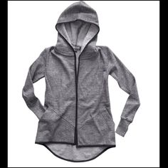 Lia Larrea Gavin Sweater Lia Larrea Gavin Sweater - long sleeve sweater with hood, front pockets, and wrist thumb holes.   There are 5 available... 1 x-small, 2 small, 1 medium, 1 large. Lia Larrea Tops Sweatshirts & Hoodies
