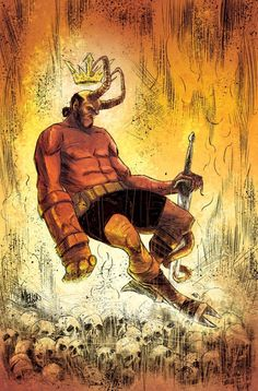Hellboy by Kevin Mellon