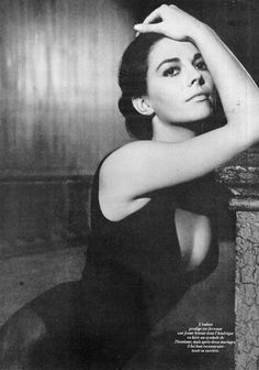 Natalie Wood on the set of West Side Story