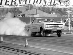 old drag car | History 64/65 Comets old drag cars lets see pictures - THE H.A.M.B.