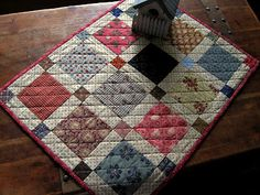 Simple is Good--Scrap Squares by Kathleen Tracy from her book The Civil War Sewing Circle