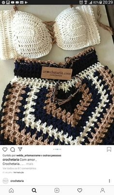 Crochet Baby Sweaters, Crochet Pants, Crochet Clothes, Crochet Designs, Crochet Patterns, Crochet Box Stitch, Hippie Crochet, Crochet Accessories, Crochet Projects