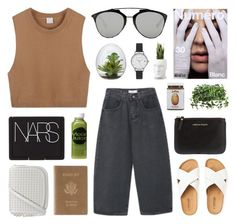 """bh 4"" by jesicacecillia ❤ liked on Polyvore featuring Royce Leather, Comme des Garçons, Christian Dior, Moon Juice, NARS Cosmetics, Olivia Burton, Vondom, women's clothing, women and female"