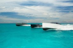 Big..Bigger..Biggest! We just love these beauties on the crystal blue water. #Luxury #yacht