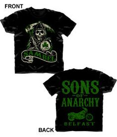 Sons of Anarchy new Fall shirts  | Sons of Anarchy Sambel Reaper Belfast 2 Sided Print T Shirt New | eBay