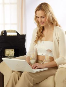 345d87b6781d2 Medela Pumping Bustier. Makes your breast pump hands-free. This is a  lifesaver