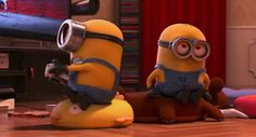 Despicable Me 2 - movie still shot frame - minion Minions Cartoon, Minion Movie, Minions Despicable Me, 2 Movie, Animation, Funny, Character, Frame, Picture Frame