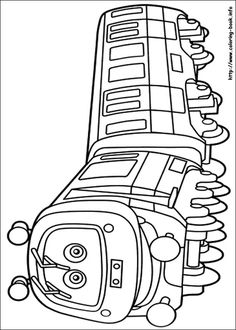 Free Printable Chuggington Coloring Page | Printable Coloring Pages ...