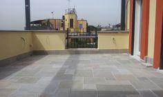 pavimentazione terrazza in pietra calcare virens cl11 - www.pulchria.it