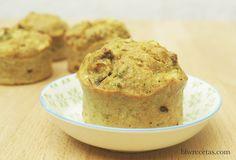 muffin de maíz y brócoli