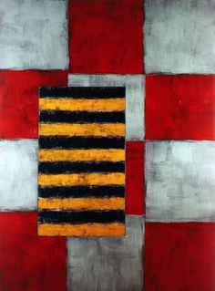 'Red Way' (1992) by Sean Scully