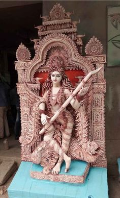 Saraswati Murti, Saraswati Idol, Saraswati Statue, Saraswati Goddess, Kali Goddess, Mother Goddess, Shiva Art, Hindu Art, Hindu Statues