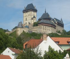 Karlstejn Castle in the CZ Republic