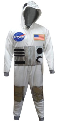 53b6cd709 WebUndies.com NASA Space Suit Astronaut Costume Onesie Pajamas Astronaut  Costume, Lounge Wear,