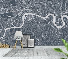 London city map Wallpaper
