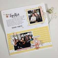 Traveler's Notebook Spread by Sheree Forcier | Felicity Jane Willow Kit