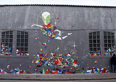 Menau - Towards 2016 - 2015 #StreetArt #Mural