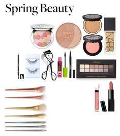 """""""Spring Make-up Look"""" by severina185 ❤ liked on Polyvore featuring beauty, NARS Cosmetics, Maybelline, Too Faced Cosmetics, Guerlain, Forever 21, Bobbi Brown Cosmetics and Bare Escentuals"""