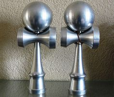 Metal kendama. If my bank account allowed for it, I might drop the 200 clams for one of these.