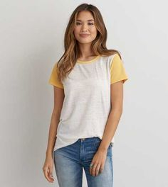 AEO Burnout Favorite T-Shirt - Buy One Get One 50% Off