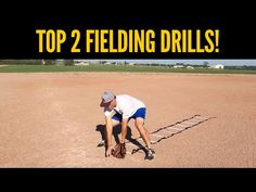 Top 2 Baseball Fielding Drills for Youth Players! - YouTube