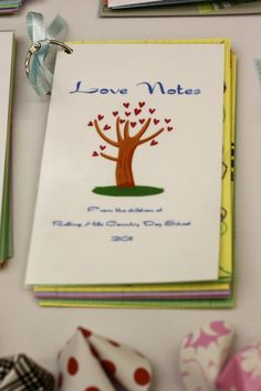 Asian Theme - Love Notes from students
