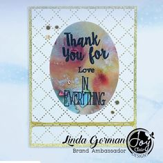 Posted @withregram • @743linda Sometimes all a card needs is a great sentiment and glitzy background!  Love the Joy Clair Give Thanks Stamp Set. #joyclairdesigns #joyclairstamps  #crafts #scrap #papercrafts #papercrafting #papercrafter #handmade #handmadecard #handmadecards #card #cards #cardmaking #cardmakingideas #cardmakinghobby #greetingcard #greetingcards #cardideas #cardmaker #makingcards #diycards #carddesign #inspire #creativity #coloring Card Maker, Give Thanks, Clear Stamps, Diy Cards, Cardmaking, Branding Design, Coloring, Creativity, Scrap