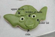 Making Yoda Cookies