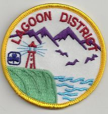 Girl Guides Canada Patch - LAGOON DISTRICT BRITISH COLUMBIA