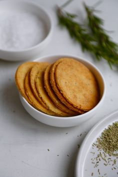 Rosemary Cookies by ChristineBonde. Baby Food Recipes, Cookie Recipes, Snack Recipes, Food Baby, Tapas Party, Candida Recipes, Vegetarian Recipes, Healthy Recipes, Brain Food