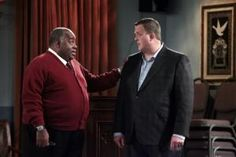 """Mike & Molly (S2E22): """"The Rehearsal"""" - Molly: That reminds me, make sure Victoria wears a bra tomorrow. Joyce: I'll try, but it's like trying to keep a hat on a dog."""