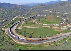 RailPictures.Net Photo: BNSF 7110 BNSF Railway GE ES44C4 at Walong, California by Chris Starnes