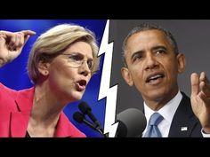 Obama and Elizabeth Warren Trade Blows on TPP - YouTube