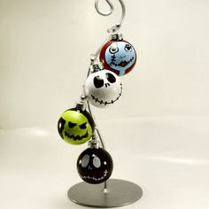The Nightmare Before Christmas Ornaments Set of 4 by KindredImages, $20.00