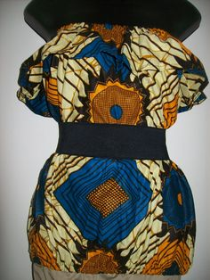 Earth Goddess Plus Size African Print Top by tambocollection, $30.00