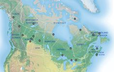 Best places in Canada to see the aurora borealis. Nova Scotia isn't really north enough. will have to plan a trip to Ontario or Quebec sometime. Northern Lights Map, Northern Lights Canada, Quebec, Columbia, Nova Scotia, Ontario, Oh The Places You'll Go, Places To Visit, Future Of Science