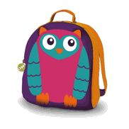 Who doesn't love a colorful Owl backpack for school?!